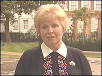 Maggy Owen will attend the opening of the memorial garden in central London to victims of the 9/11 attacks