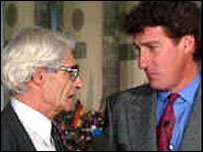 Charles Wheeler and Jeremy Paxman