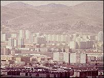 Mongolian capital Ulan Bator