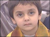 Ahmadiyya child