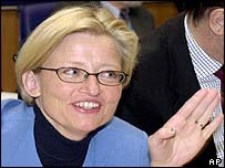 Anna Lindh, in 2001
