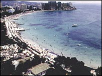 Picture of the coast in Majorca