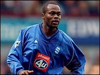 Birmingham striker Stern John