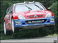Citroen driver Sebastien Loeb