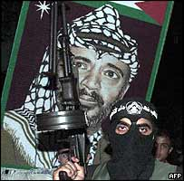 Palestinian militant and supporter of Arafat