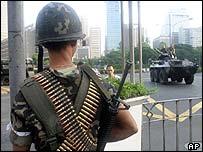 Marine at the Manila complex