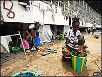 Monrovia's sports stadium