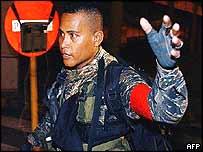 Philippine army rebel
