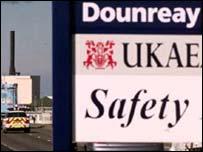 Sign at Dounreay