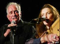 Johnny Cash and June Carter Cash