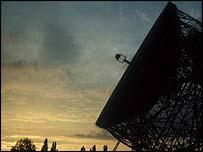 Jodrell Bank telescope, BBC