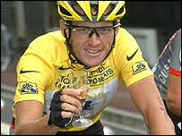 Armstrong has joined the Tour de France immortals