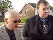 Larne representatives Jack McKee (DUP) and Danny O'Connor (SDLP)