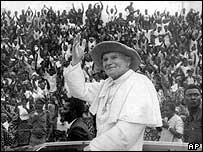 The Pope in Benin in 1982