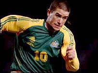Australia's Harry Kewell