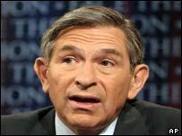 United States deputy defence secretary Paul Wolfowitz