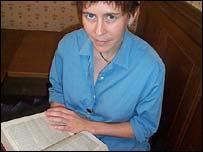 Monica Halpin, assistant archivist