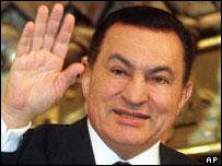 President Hosni Mubarak