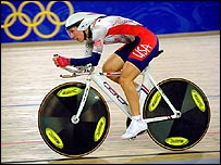 The individual pursuit is one of eight track disciplines