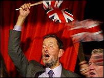David Blunkett at the Proms