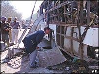 India bus bomb