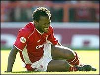 Forest striker David Johnson
