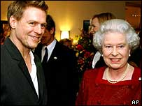 Queen with Bryan Adams