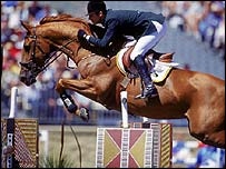 Showjumping event in Sydney