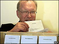 Prime Minister Goeran Persson