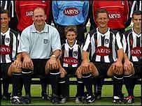 Team photo courtesy of Grimsby Town Football club