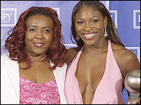 Yetunde Price (left) and sister Serena Williams
