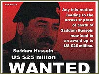 Poster issued by Iraq's US-led administration