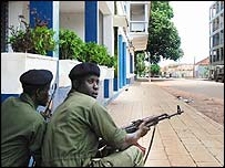 Regular troops in Guinea-Bissau's capital Bissau