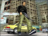 Screenshot from Grand Theft Auto