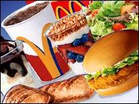 McDonalds' food
