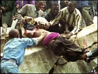 Kenyans were the main victims of the 1998 US embassy bomb 
