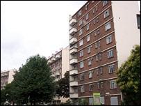 Tower Block on estate