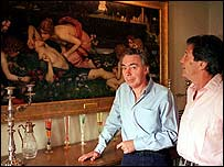 Lord Lloyd-Webber with Melvin Bragg on the South Bank Show