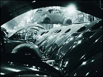 The Wolfsburg VW factory in 1952