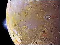 Volcano on Io