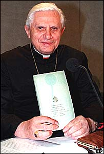 The Pope's chief theological advisor, Cardinal Joseph Ratzinger