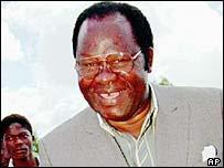 Malawian President Bakili Muluzi