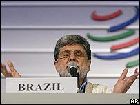 Celso Amorim, canciller de Brasil