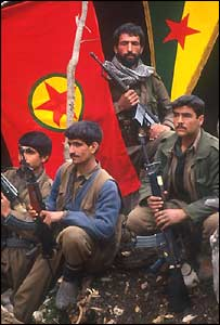 PKK guerrillas in South East Turkey before they disbanded
