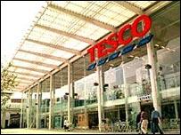 A Tesco's store