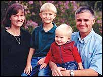 Donna and David Jacobbson with their children