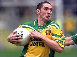 Brendan Devenney of Donegal is one of Ulster's top players