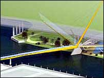 Landmark Bridge designed by Whitbybird
