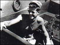 John F Kennedy aboard the PT109