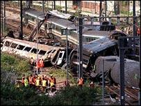 Paddington crash at Ladbroke Grove